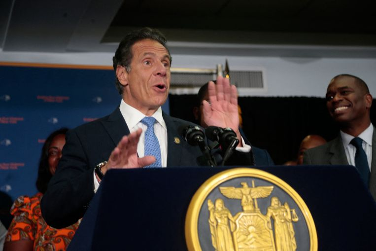 New York Governor Andrew Cuomo, who recently resigned after allegations of sexual assault.  photo news photo