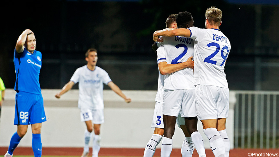 AA Gent survives in Europe after deserved victory over RFS |  European League of Conferences 2021/2022
