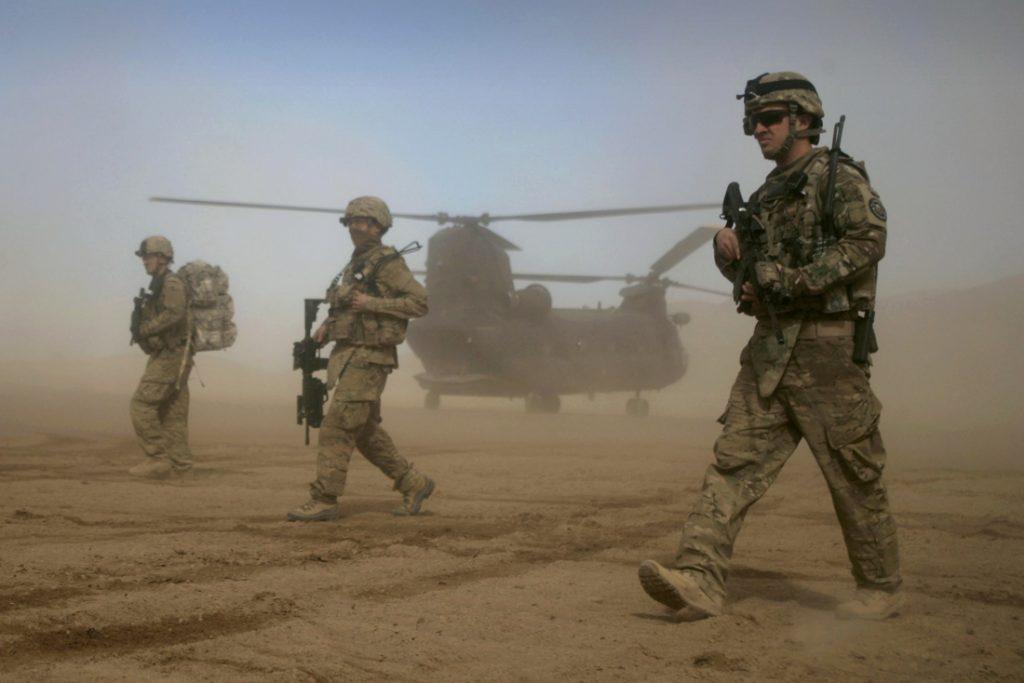 Nieuwe groep VS-soldaten in Kaboel aangekomen