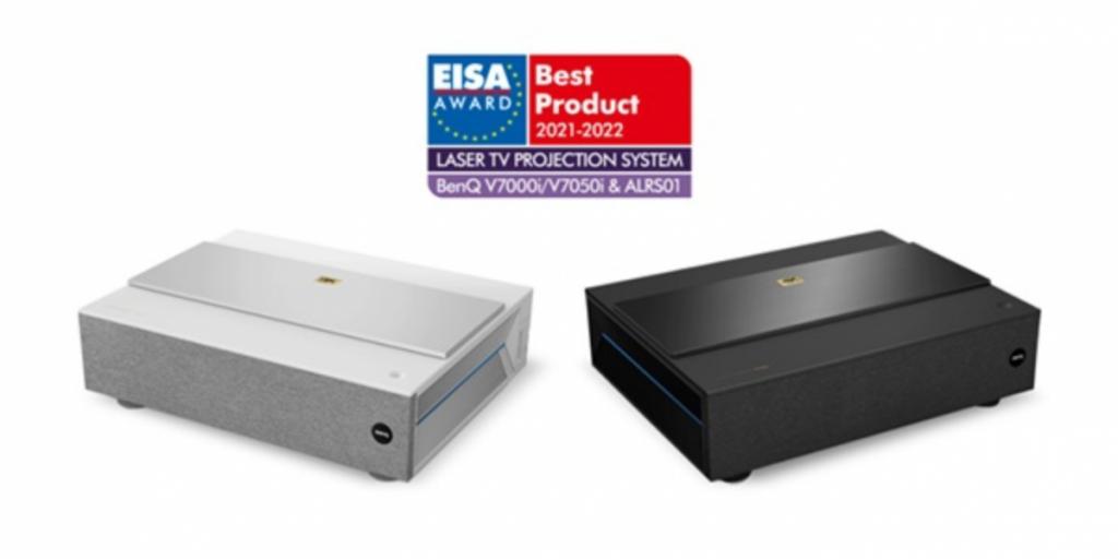 EISA Award for BenQ 4K Laser TV Projectors V7000i / V7050i and ALR