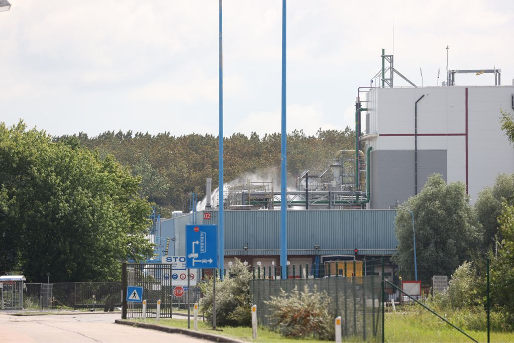 Fire breaks out at chemical company 3M (Zwijndrecht)