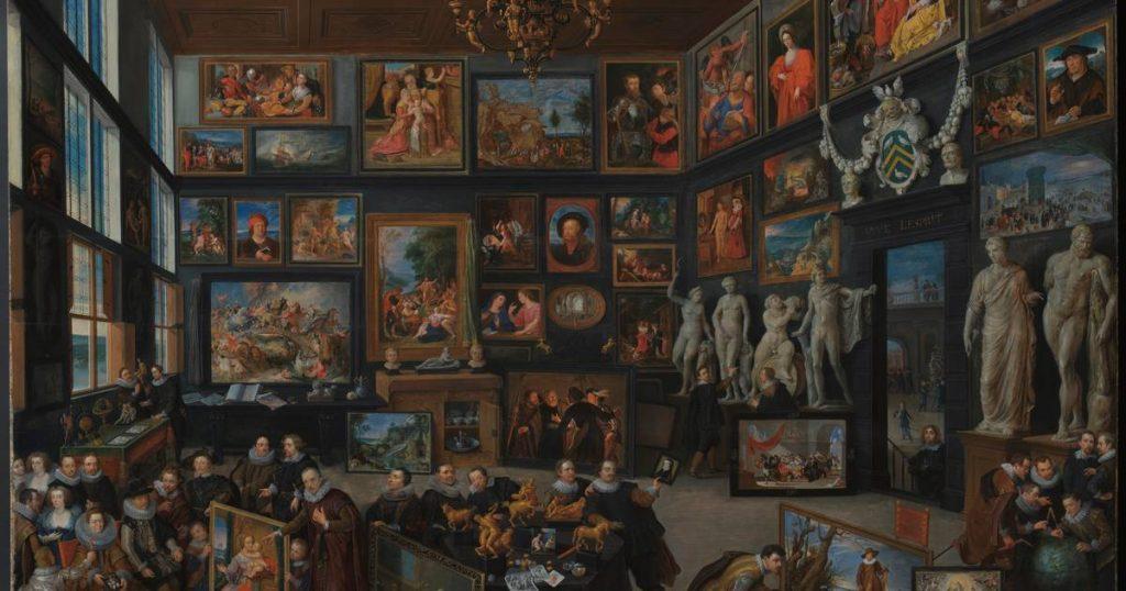 A Glimpse of Antwerp's Greatness in the Seventeenth Century: Restored Rubens House Masterpiece    Antwerp