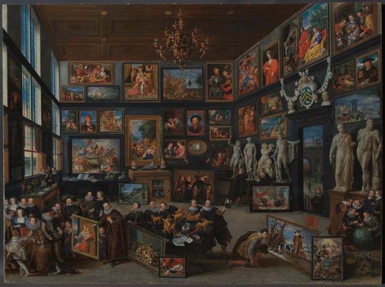 A glimpse into the grandeur of 17th century Antwerp: the masterpiece of Rubens House restored