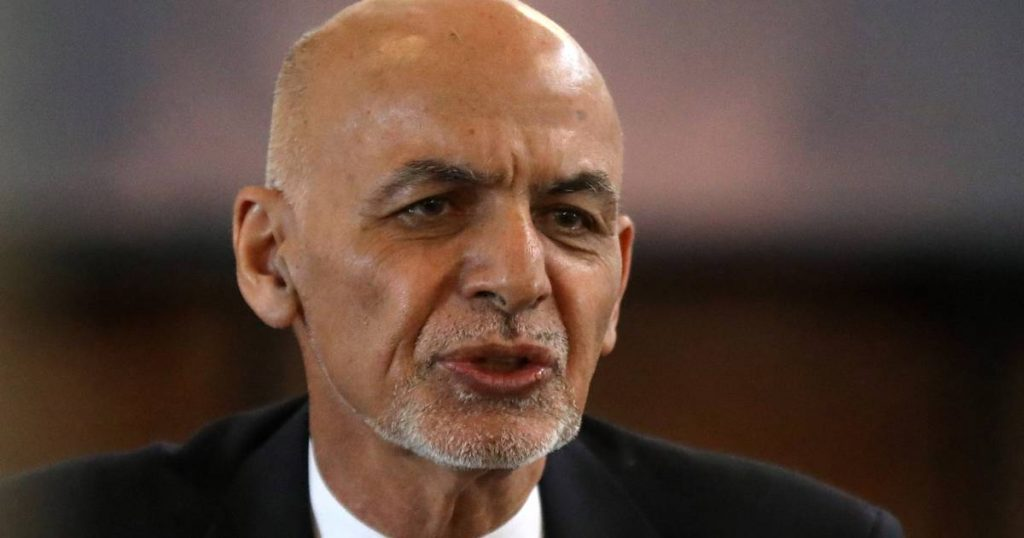 """Afghan president fled to the UAE: """"He had $169 million with him when he left Afghanistan""""    Instagram news VTM"""