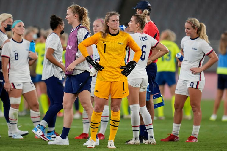 American football women are shocked but still not panicked after the defeat against Sweden