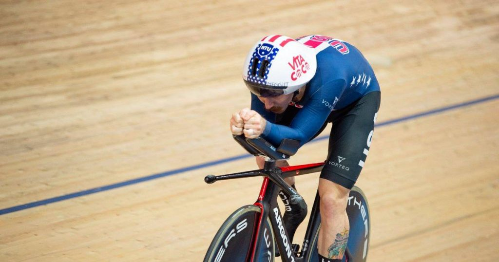 And now Filippo Gana?  American breaks the four-minute magic limit in a solo pursuit |  sports