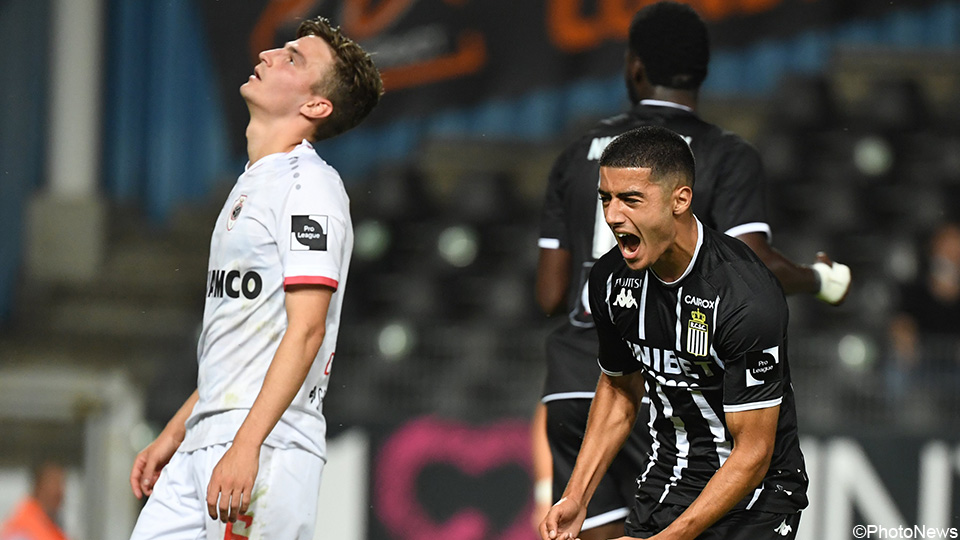 Antwerp does not exceed a tie in Charleroi |  Jupiler Pro League 2021/2022