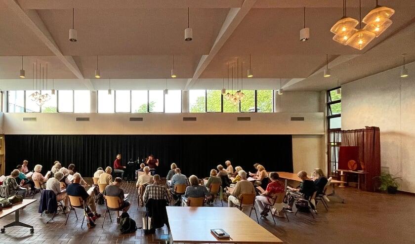Barn's concert choir is currently rehearsing at Die Openhof