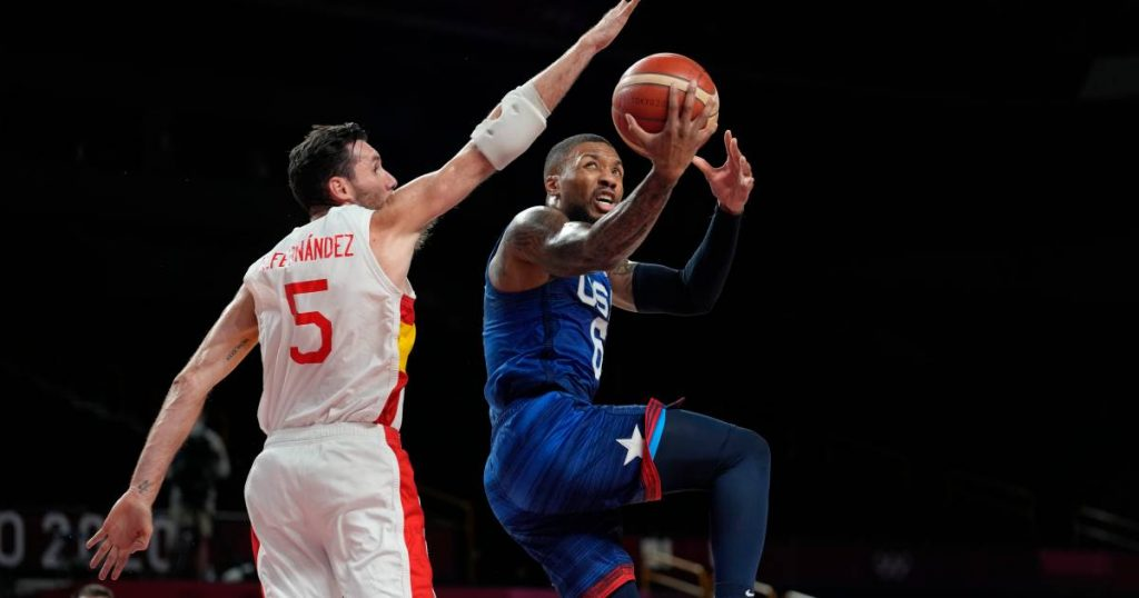 Basketball players US tackle Spain after break: 'Dream team' to semifinals |  Olympic