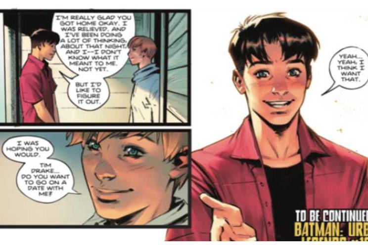 Na jaren van speculatie bevestigd: Robin van Batman is biseksueel