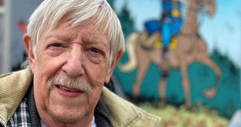 'De Blauwbloezen' screenwriter Raoul Coffin dies at the age of 82    interior