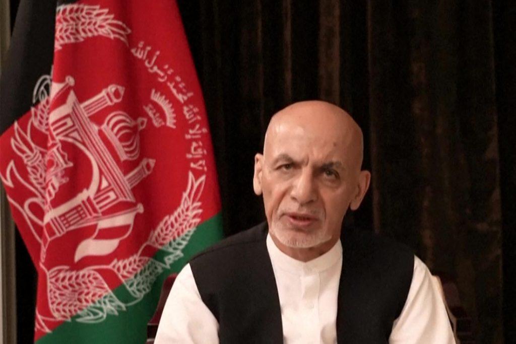 "Afghaanse ex-president Ghani vanuit ballingschap: ""Ik praat over terugkeer"""