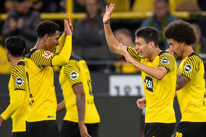 Reyna and Bellingham scored for Dortmund.