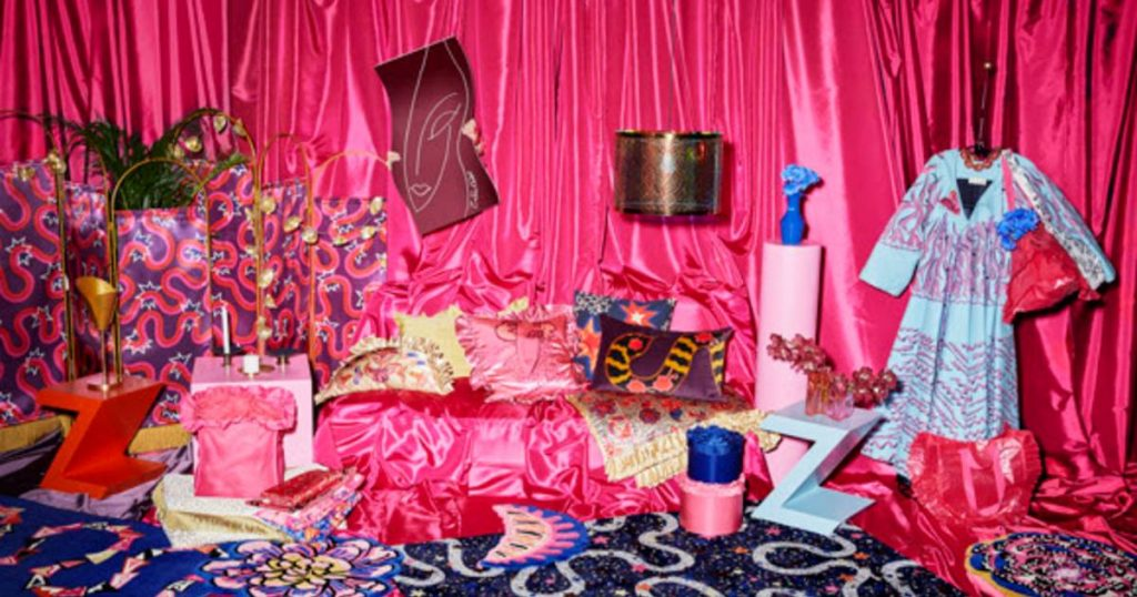 IKEA launches extravagant collection with British print and textile designer Zandra Rhodes |  style