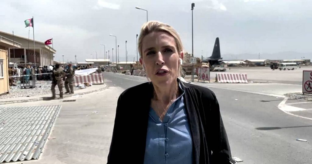 'Never seen anything like this before': Clarissa Ward testifies of Calvary's flight to Kabul Airport    Afghanistan in the hands of the Taliban