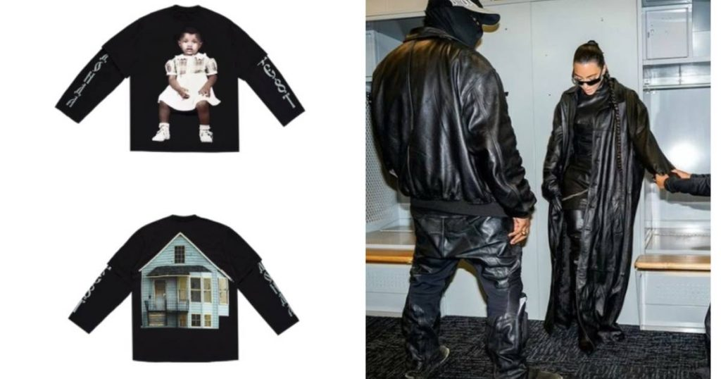 Rapper Kanye West releases Merch with Balenciaga in honor of latest album |  style