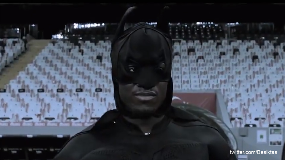 There is a batsman!  Besiktas announces Mishi Batshuayi in the style of a true superhero |  Premier League