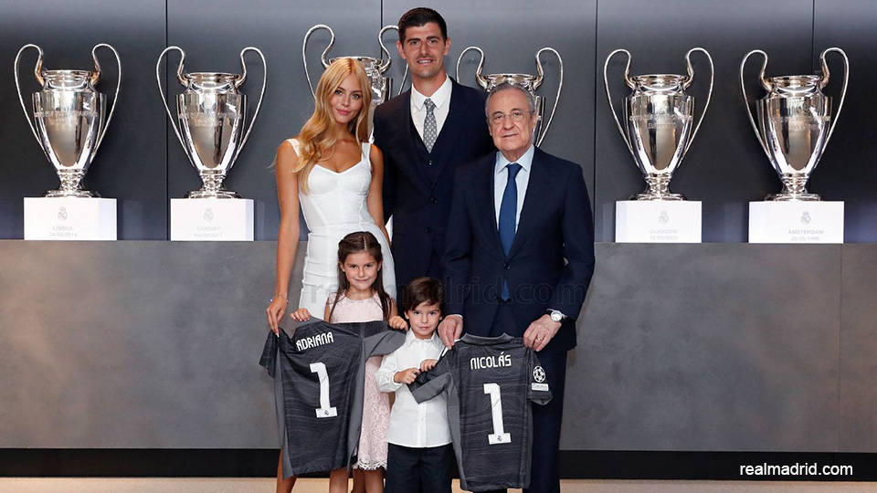 """Thibaut Courtois extends his contract with Real Madrid until 2026: """"It is an honor""""    football"""