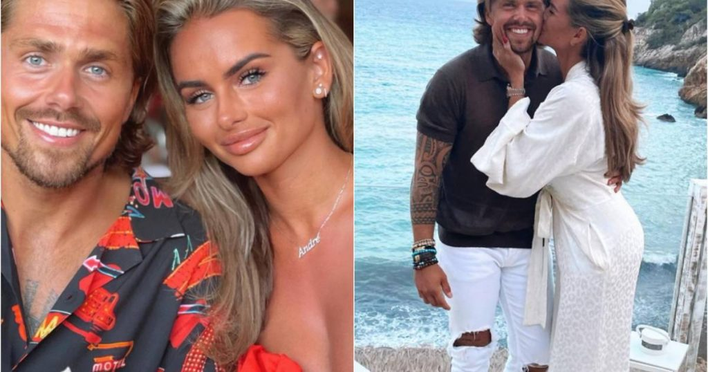 in the picture.  André Hazes and Sarah van Soelen once again enjoy a romantic holiday in Ibiza |  showbiz