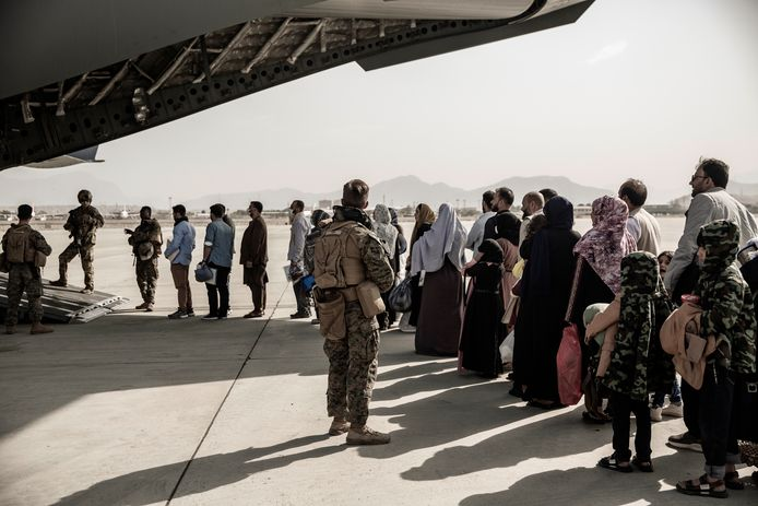 Afghans are being expelled by the US military.