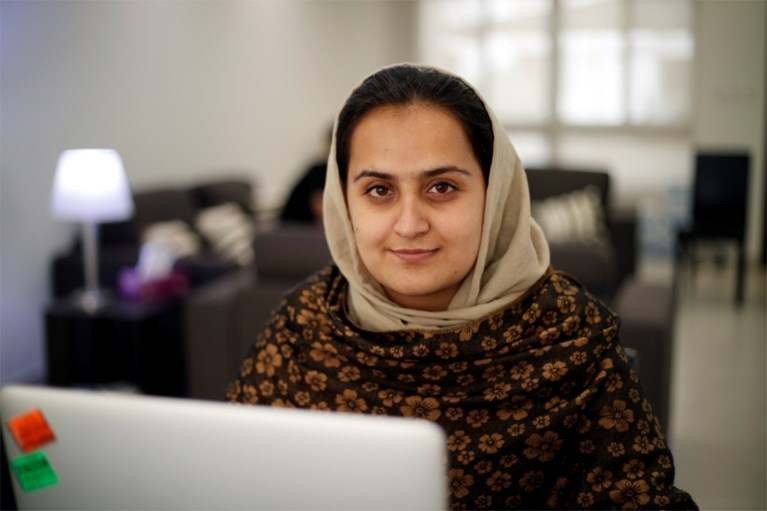 She suddenly became the first Afghan woman to give an interview to the Taliban, and now the news anchor had to flee