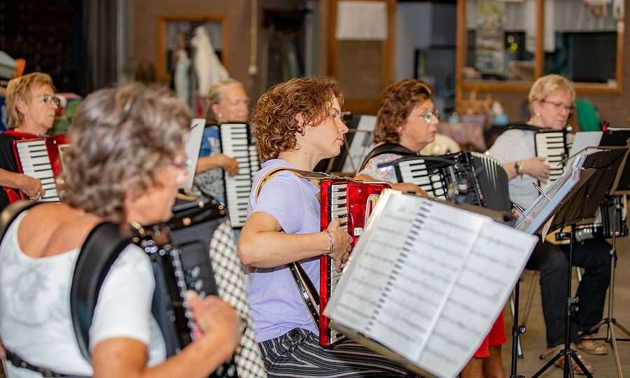 Atmospheric tests were obtained in the accordion assembly by exercise