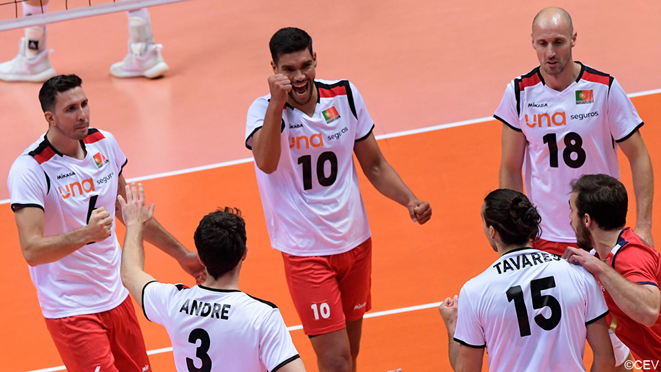 The Red Dragons do not finish catching up with Portugal and also lose their second match in the European Championship    European Volleyball Championship