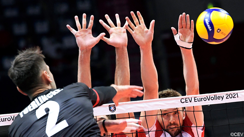 The red dragon bows their heads to the world champion in the Polish witch's cauldron    European Volleyball Championship
