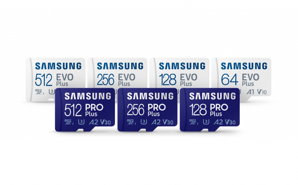 PRO Plus, EVO Plus microSD and SD cards available from mid-September - Samsung Belgium newsroom