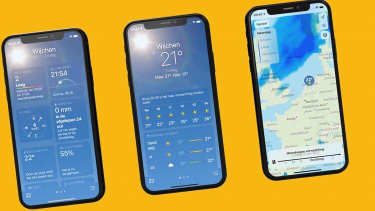 weather app ios 15
