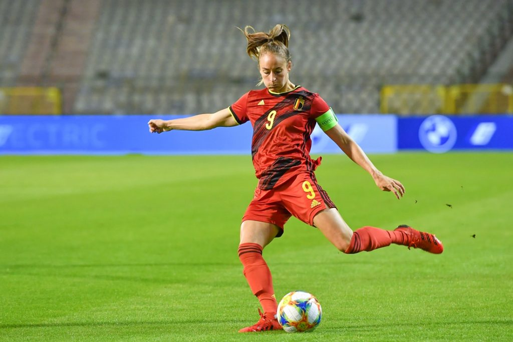 Red Flames Wipe the Ground with Albania: Tessa Wallart VI...