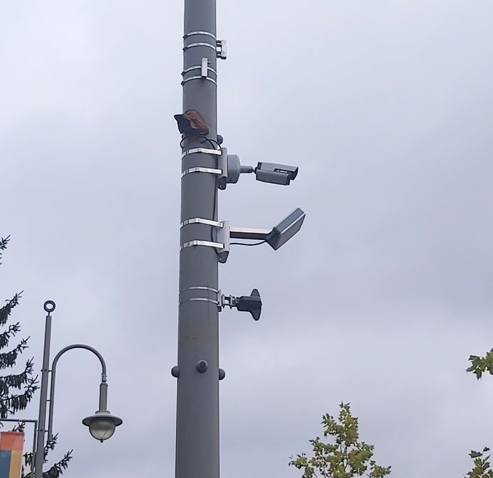 Cameras and microphones were installed inconspicuously at the Stalenstraat in Genk.