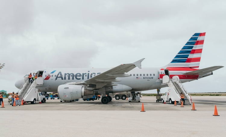 Most flights from United States to Bonaire from November -