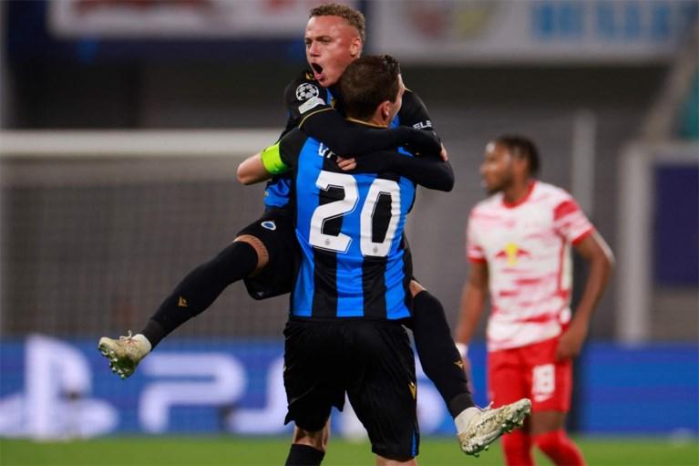 Very strong Club Brugge beat Leipzig
