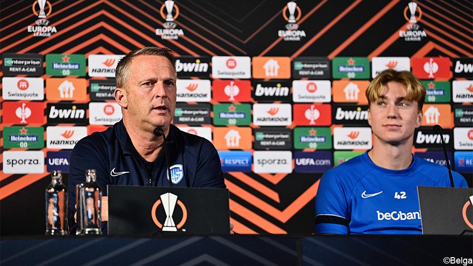 "Van den Broom: ""Take a new step towards the European winter against Zagreb"" |  European League 2021/2022"