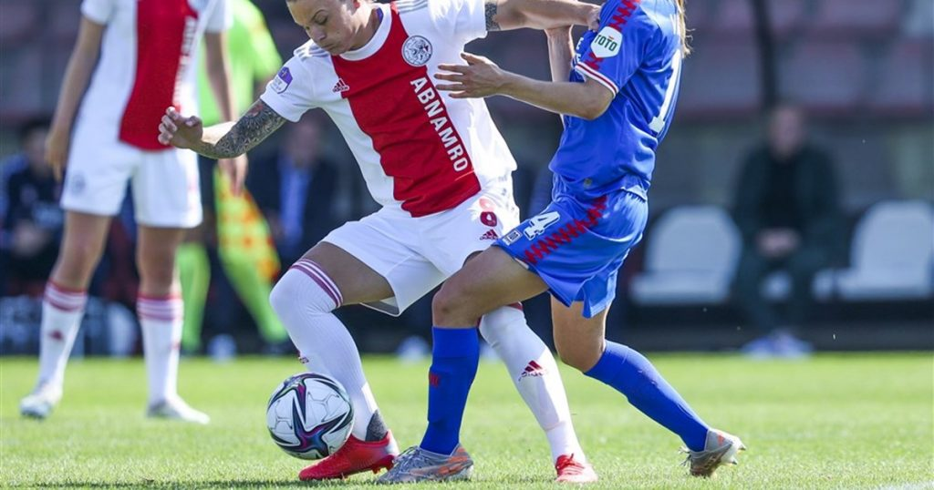 Ajax women suffered an unnecessary defeat against Twente