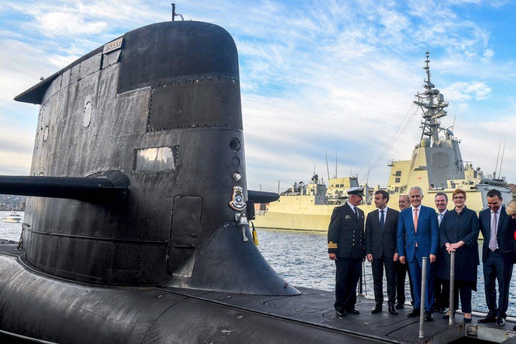 Australië wijst in duikbootaffaire op hulp aan Frankrijk tijdens wereldoorlogen