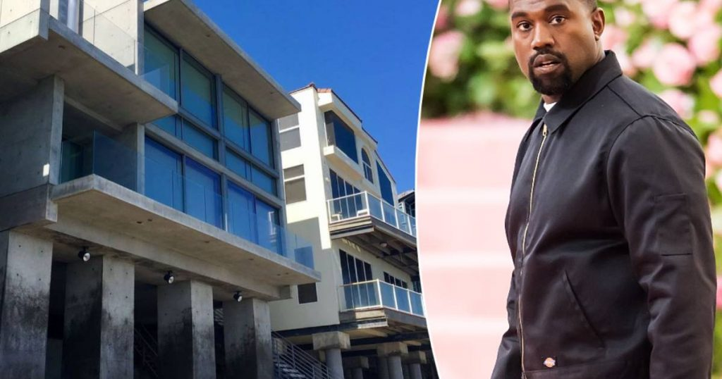 Is it a beach house or a hideout?  Kanye West buys an artistic villa in Malibu for about 50 million euros |  Famous