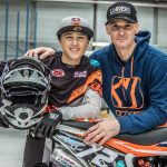 Liam Everts surprises his friend and his enemy with his first appearance in the MotoGP World Cup…
