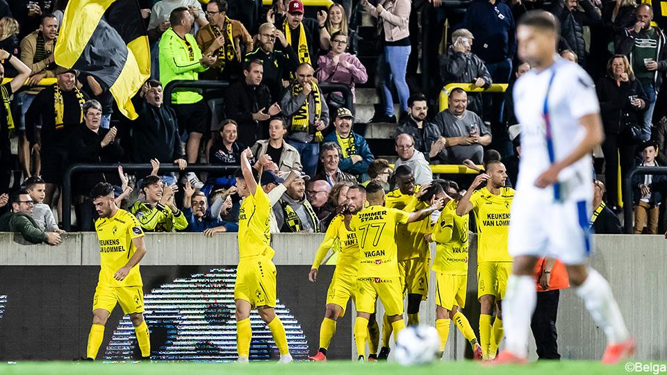 Lierse K. defeats 10 men from Waasland-Beveren to move past Waaslanders to 2 |  1B Pro League 2021/2022