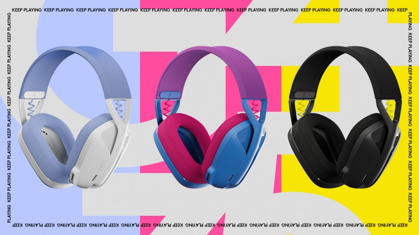 Logitech G unveils a light and durable wireless gaming headset with braille indicators