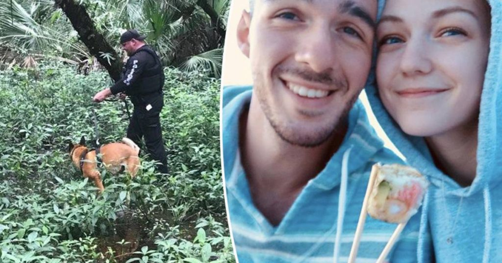 Police are combing a huge nature reserve in search of Gabi's missing fiancé (22) |  Abroad