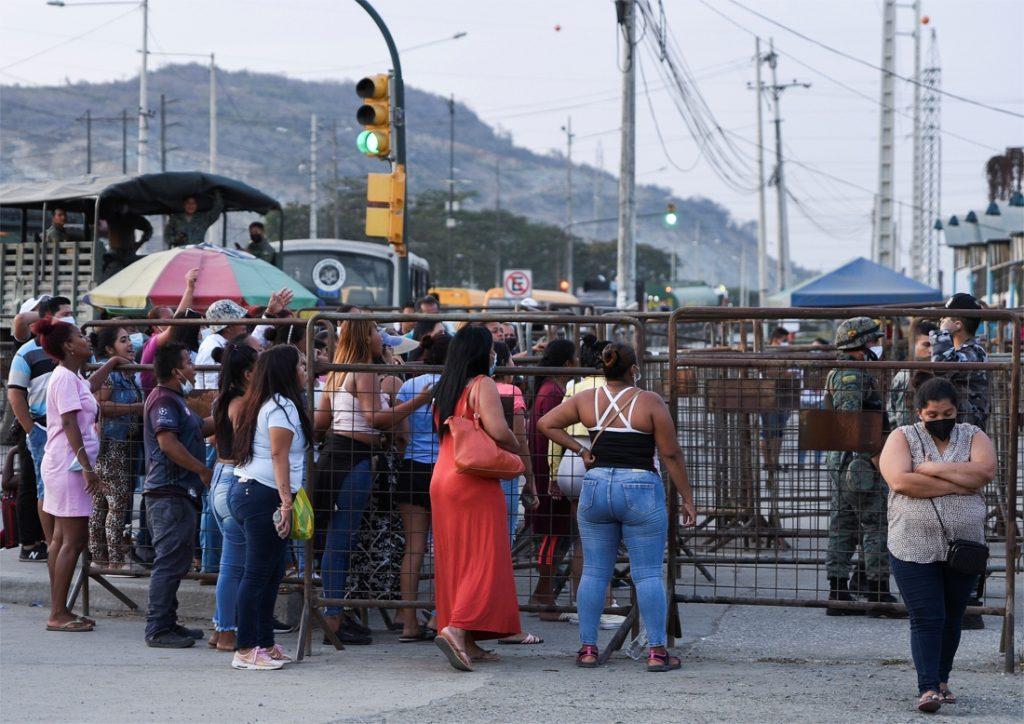 Police raid on Ecuadorean prison leaves 116 dead