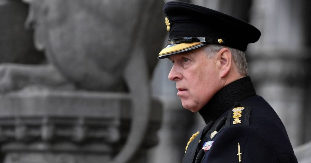 'Secret document' that could help Prince Andrew in the assault case    showbiz