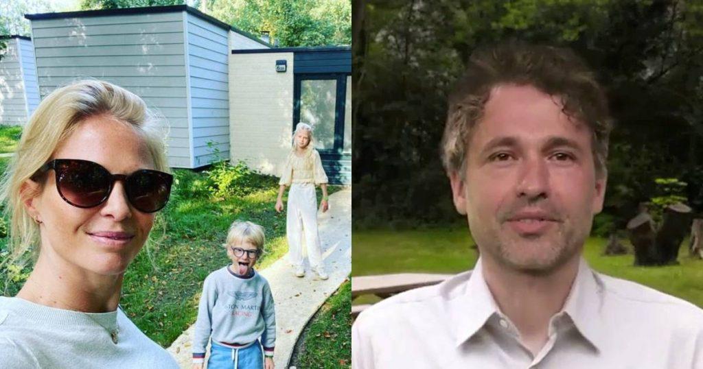 Showbits.  Annelien Coorevits comes to rest with her children and does Thomas Vanderveken enter politics?     showbiz