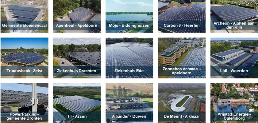 Solar Magazine - CE Delft and Merosch: Space for 11 GW of solar panels above parking spaces