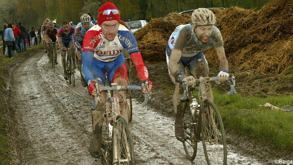 "Tom Stiles: ""Paris-Roubaix in the rain is a life-threatening match""    Paris Rubix"