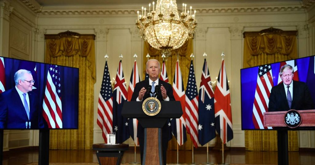 US, UK and Australia sign new military alliance to 'arm themselves against challenges of the 21st century'    Abroad