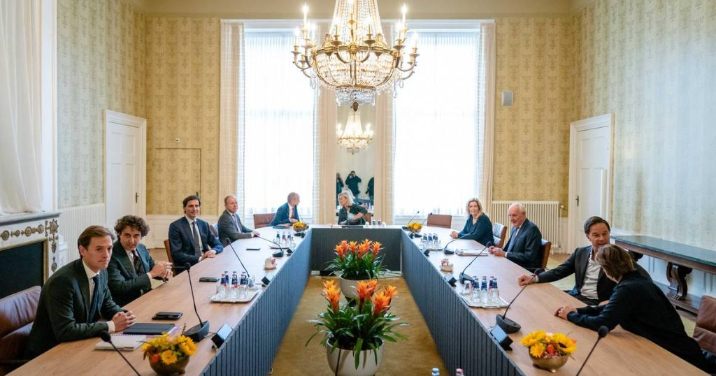 """Victory Day in the formation of the Dutch government has not yet resulted in a breakthrough: """"Reforming the current government is a serious option"""" 