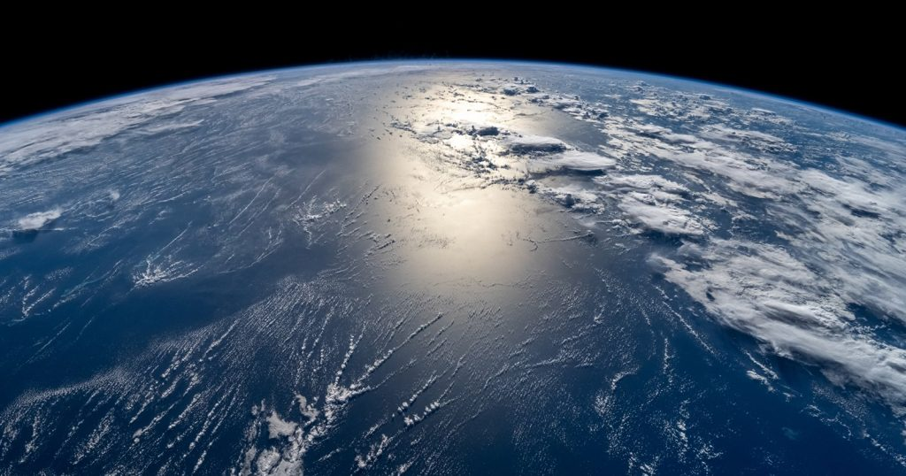 Breathtaking photos of Earth were captured from above, even from the International Space Station